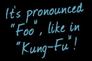 "FU - it's pronounced ""foo""!"