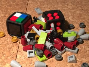 Lego dice and bits